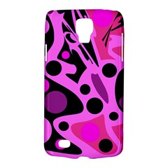 Pink Abstract Decor Galaxy S4 Active by Valentinaart