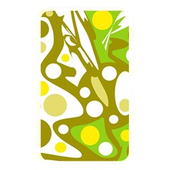Green And Yellow Decor Memory Card Reader by Valentinaart