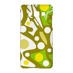 Green And Yellow Decor Samsung Galaxy A5 Hardshell Case  by Valentinaart
