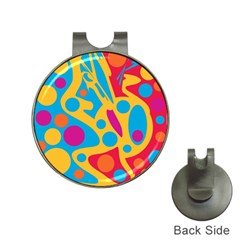 Colorful Decor Hat Clips With Golf Markers by Valentinaart