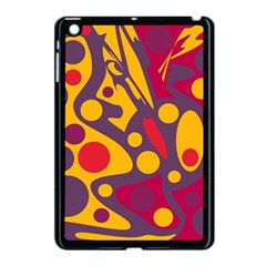 Colorful Chaos Apple Ipad Mini Case (black) by Valentinaart