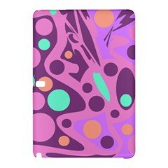 Purple And Green Decor Samsung Galaxy Tab Pro 12 2 Hardshell Case by Valentinaart
