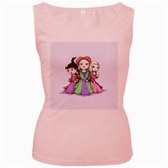 Hocus Pocus Plush Women s Pink Tank Top by lvbart