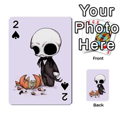 Smashing Pumpkin King  Playing Cards 54 Designs  by lvbart