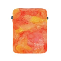 Watercolor Yellow Fall Autumn Real Paint Texture Artists Apple Ipad 2/3/4 Protective Soft Cases by CraftyLittleNodes