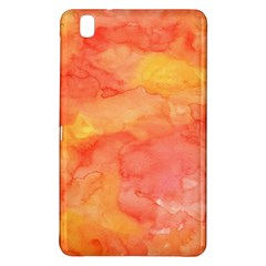 Watercolor Yellow Fall Autumn Real Paint Texture Artists Samsung Galaxy Tab Pro 8 4 Hardshell Case by CraftyLittleNodes