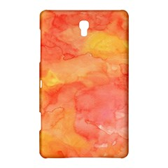 Watercolor Yellow Fall Autumn Real Paint Texture Artists Samsung Galaxy Tab S (8 4 ) Hardshell Case  by CraftyLittleNodes
