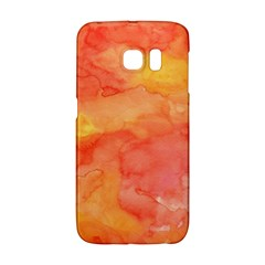Watercolor Yellow Fall Autumn Real Paint Texture Artists Galaxy S6 Edge by CraftyLittleNodes