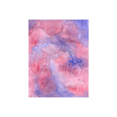 Galaxy Cotton Candy Pink And Blue Watercolor  Shower Curtain 48  X 72  (small)  by CraftyLittleNodes