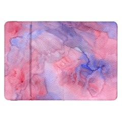 Galaxy Cotton Candy Pink And Blue Watercolor  Samsung Galaxy Tab 8 9  P7300 Flip Case by CraftyLittleNodes