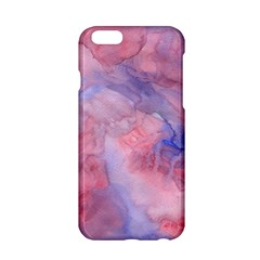Galaxy Cotton Candy Pink And Blue Watercolor  Apple Iphone 6/6s Hardshell Case by CraftyLittleNodes
