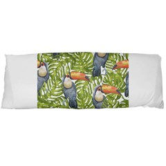 Tropical Print Leaves Birds Toucans Toucan Large Print Body Pillow Case Dakimakura (two Sides) by CraftyLittleNodes