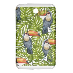 Tropical Print Leaves Birds Toucans Toucan Large Print Samsung Galaxy Tab 3 (7 ) P3200 Hardshell Case  by CraftyLittleNodes