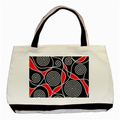 Hypnotic Design Basic Tote Bag by Valentinaart