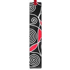 Hypnotic Design Large Book Marks by Valentinaart