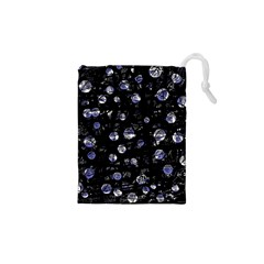 Blue Soul Drawstring Pouches (xs)  by Valentinaart