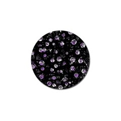 Purple Soul Golf Ball Marker by Valentinaart