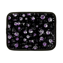 Purple Soul Netbook Case (small)  by Valentinaart