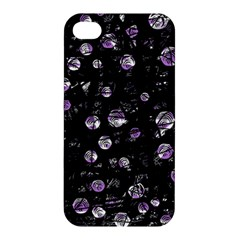 Purple Soul Apple Iphone 4/4s Premium Hardshell Case by Valentinaart