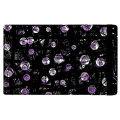 Purple Soul Apple Ipad 2 Flip Case by Valentinaart