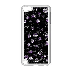 Purple soul Apple iPod Touch 5 Case (White) by Valentinaart