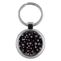 Purple Soul Key Chains (round)  by Valentinaart
