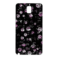 Purple Soul Samsung Galaxy Note 3 N9005 Hardshell Back Case by Valentinaart