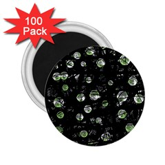 Green Soul  2 25  Magnets (100 Pack)  by Valentinaart