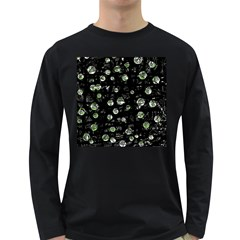 Green Soul  Long Sleeve Dark T Shirts by Valentinaart