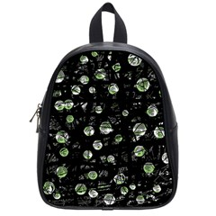 Green Soul  School Bags (small)  by Valentinaart