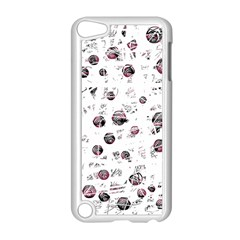 White and red soul Apple iPod Touch 5 Case (White) by Valentinaart