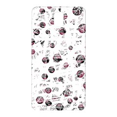 White And Red Soul Samsung Galaxy Note 3 N9005 Hardshell Back Case by Valentinaart