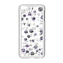 White And Blue Soul Apple Ipod Touch 5 Case (white) by Valentinaart