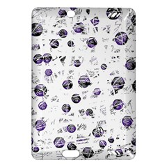 White And Blue Soul Amazon Kindle Fire Hd (2013) Hardshell Case by Valentinaart