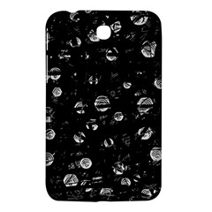 Black And Gray Soul Samsung Galaxy Tab 3 (7 ) P3200 Hardshell Case  by Valentinaart