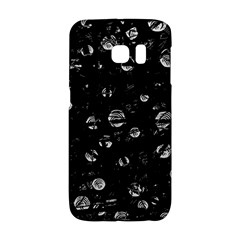 Black And Gray Soul Galaxy S6 Edge by Valentinaart
