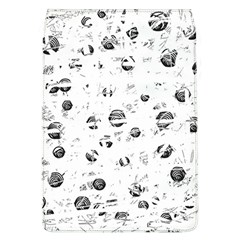 White And Gray Soul Flap Covers (l)  by Valentinaart