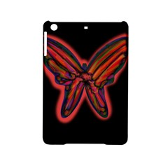 Red Butterfly Ipad Mini 2 Hardshell Cases by Valentinaart