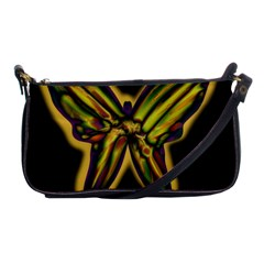 Night Butterfly Shoulder Clutch Bags by Valentinaart