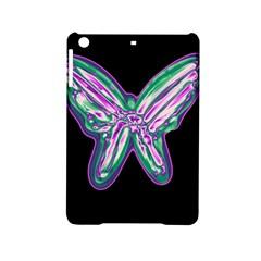 Neon Butterfly Ipad Mini 2 Hardshell Cases by Valentinaart
