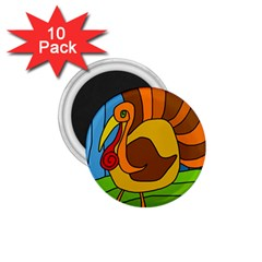 Thanksgiving turkey  1.75  Magnets (10 pack)  by Valentinaart