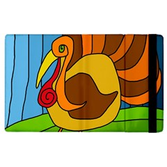 Thanksgiving Turkey  Apple Ipad 2 Flip Case by Valentinaart