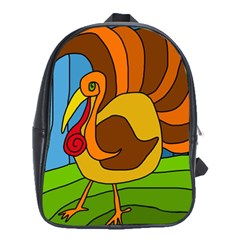 Thanksgiving Turkey  School Bags (xl)  by Valentinaart