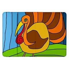 Thanksgiving Turkey  Samsung Galaxy Tab 8 9  P7300 Flip Case by Valentinaart