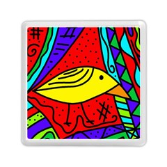 Yellow bird Memory Card Reader (Square)