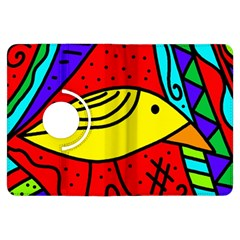 Yellow Bird Kindle Fire Hdx Flip 360 Case by Valentinaart