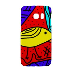 Yellow Bird Galaxy S6 Edge by Valentinaart