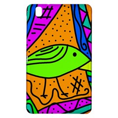 Green Bird Samsung Galaxy Tab Pro 8 4 Hardshell Case by Valentinaart