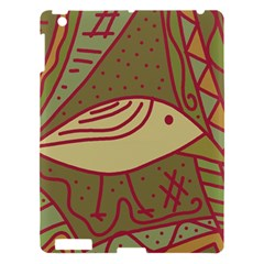 Brown Bird Apple Ipad 3/4 Hardshell Case by Valentinaart