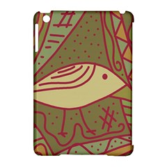 Brown Bird Apple Ipad Mini Hardshell Case (compatible With Smart Cover) by Valentinaart